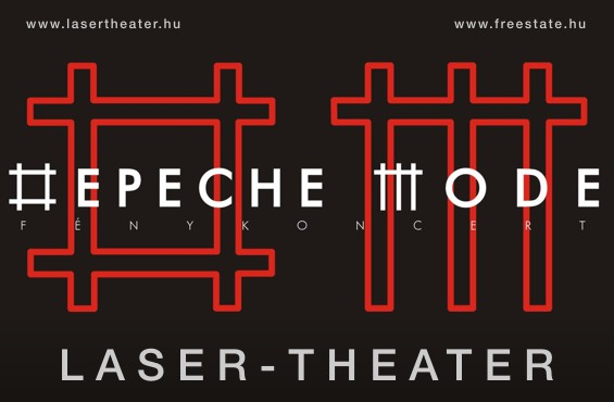 depeCHe MODE - Laser Theater in Budapest, Hungary
