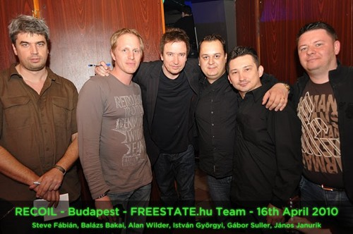 RECOIL - Budapest - FREESTATE.hu Team - 16th April 2010