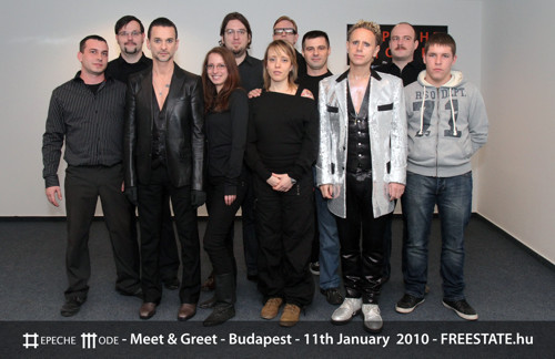 Cikk témája: depeCHe MODE - Meet And Greet - 2010