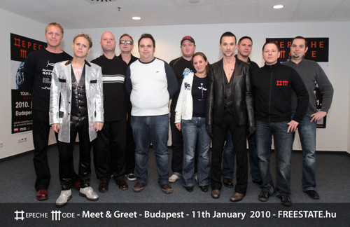 depeCHe MODE - Meet And Greet - 2010