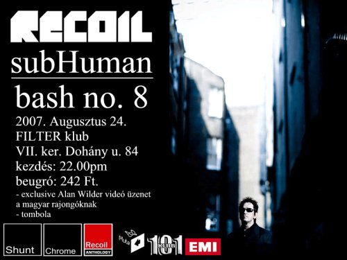 Recoil - subHuman - Bash no. 8