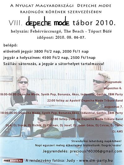 Nyugat Magyarországi Depeche Mode Rajongók Köre - Depeche Mode tábor